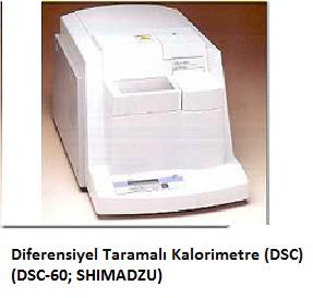 Diferensiyel Taramalı Kalorimetre (DSC)